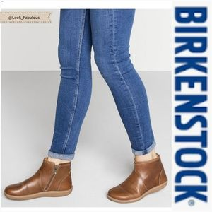 NWT BIRKENSTOCK BROWN BENNINGTON BOOTIES